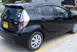 Lady Driven Car